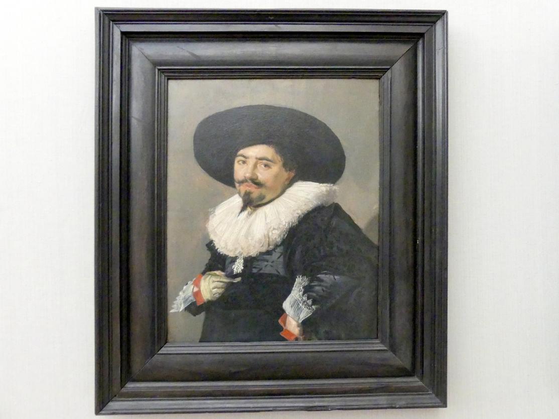 Frans Hals: Bildnis eines Mannes, 1625