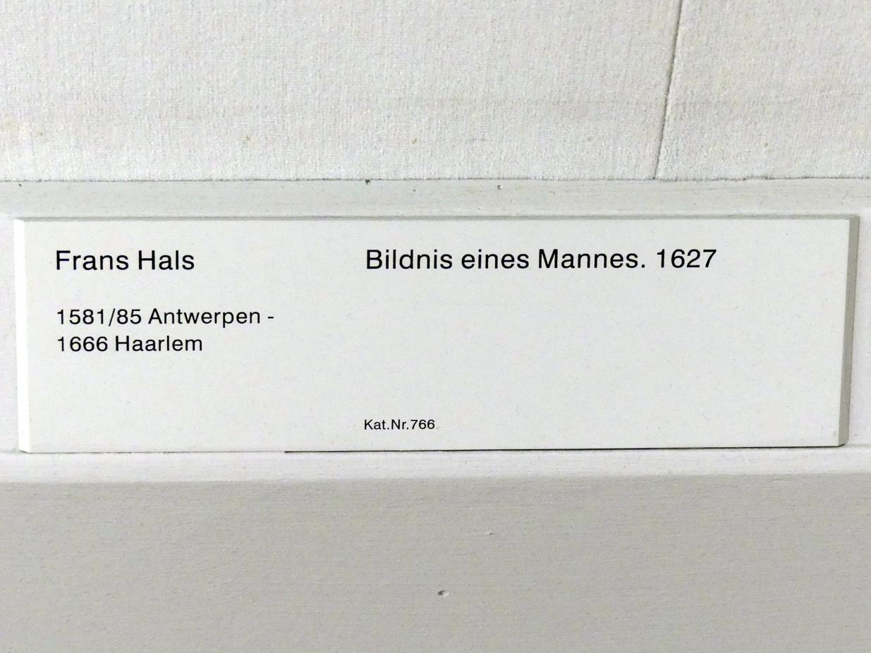 Frans Hals: Bildnis eines Mannes, 1627, Bild 2/2