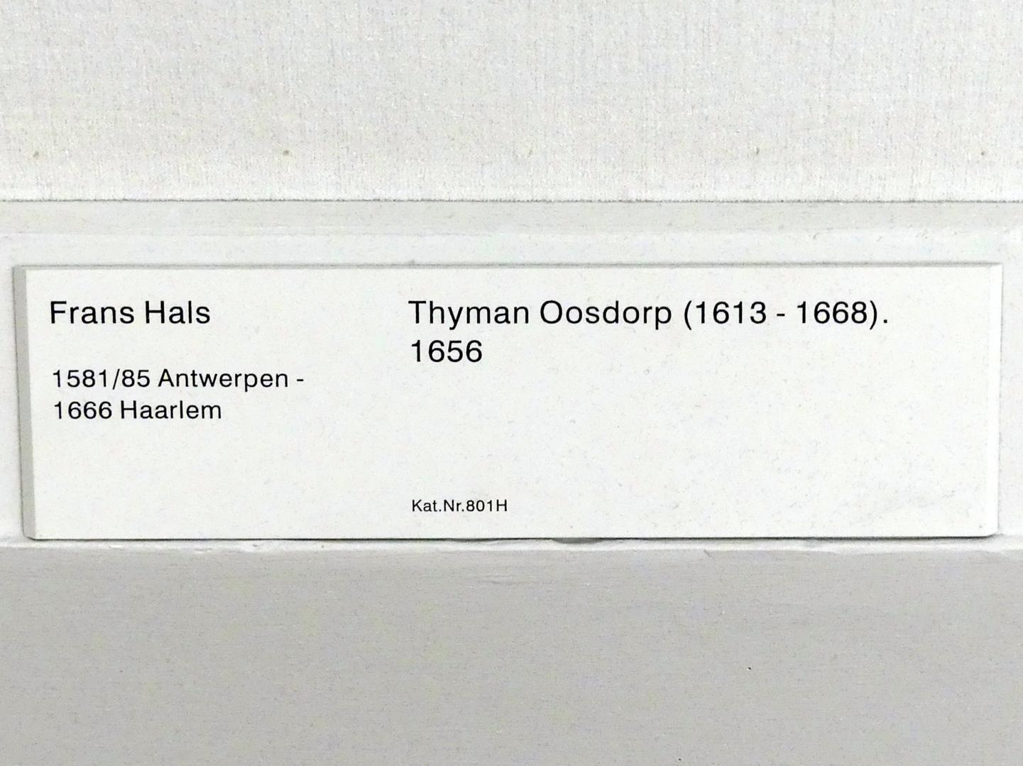 Frans Hals: Thyman Oosdorp (1613-1668), 1656, Bild 2/2