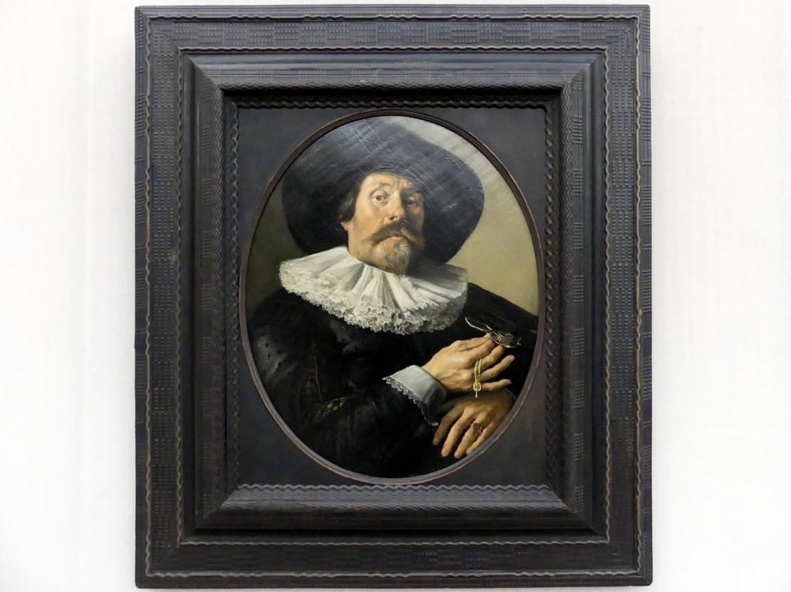 Pieter Codde: Bildnis eines Mannes mit Uhr, um 1633 - 1634