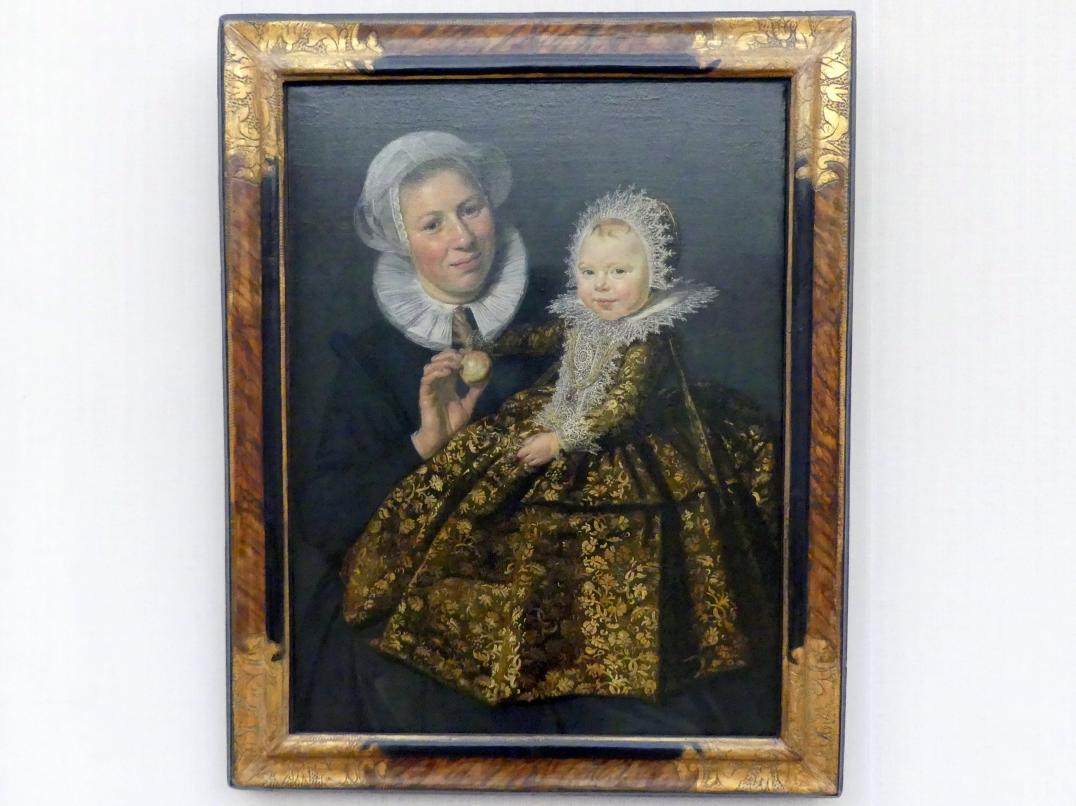 Frans Hals: Catharina Hooft (1618-1691) mit ihrer Amme, um 1619 - 1620
