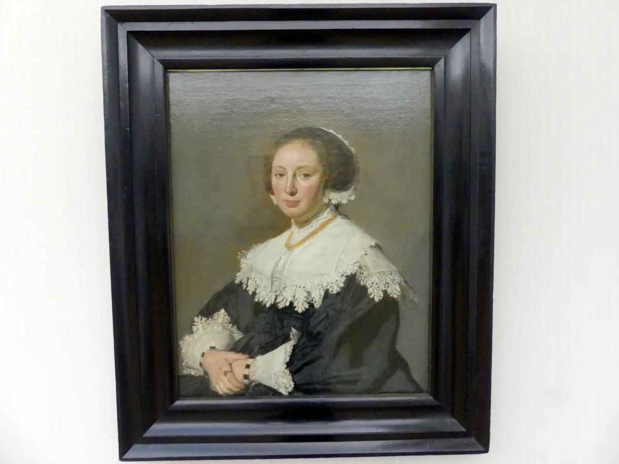 Frans Hals: Bildnis einer Frau, um 1633 - 1635