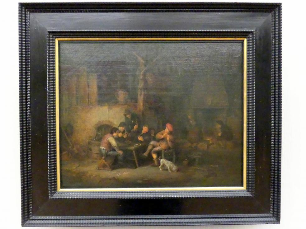 Adriaen van Ostade: Bauerngesellschaft im Wirtshaus, 1640 - 1643