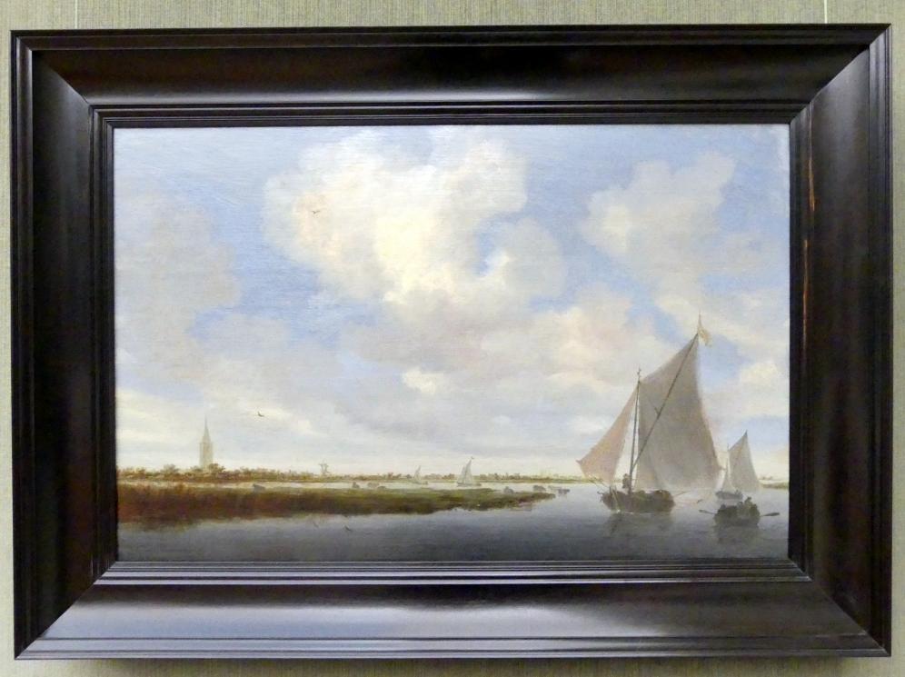 Salomon van Ruysdael: Segelboote auf dem Wijkermeer, um 1648