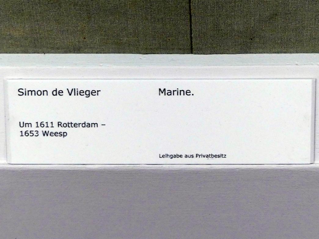 Simon de Vlieger: Marine, Undatiert, Bild 2/2