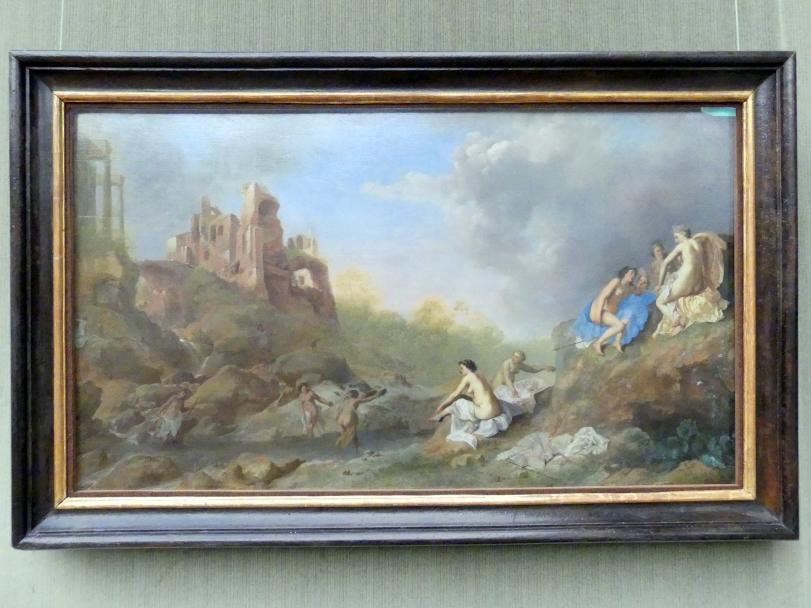 Dirck van der Lisse: Diana im Bade, um 1635