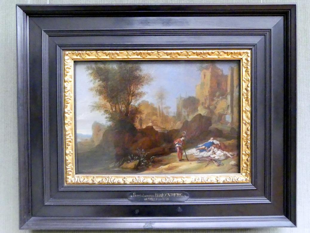 Bartholomeus Breenbergh: Landschaft mit Cimon und Iphigenia, 1640