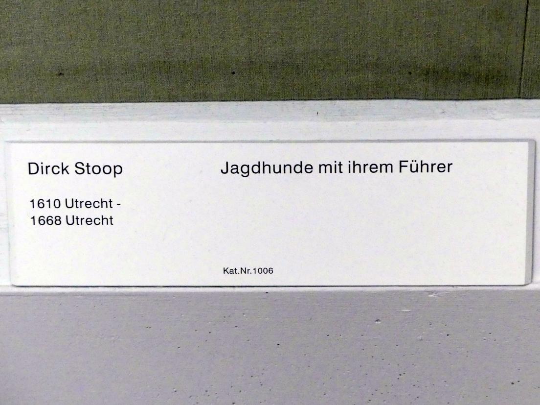 Dirk Stoop: Jagdhunde mit ihrem Führer, Undatiert, Bild 2/2