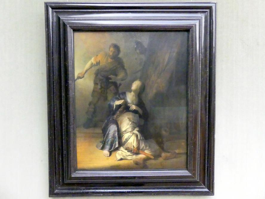 Rembrandt (Rembrandt Harmenszoon van Rijn): Simson und Delila, Um 1628 - 1629