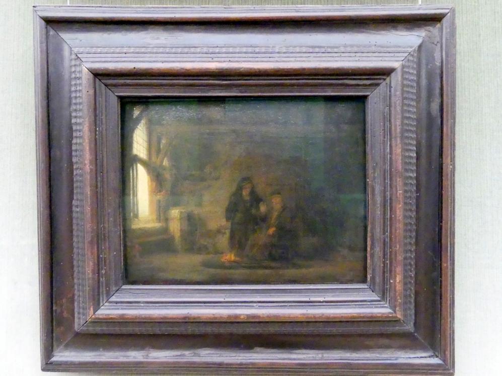 Rembrandt (Rembrandt Harmenszoon van Rijn): Die Frau des Tobias mit der Ziege, 1645