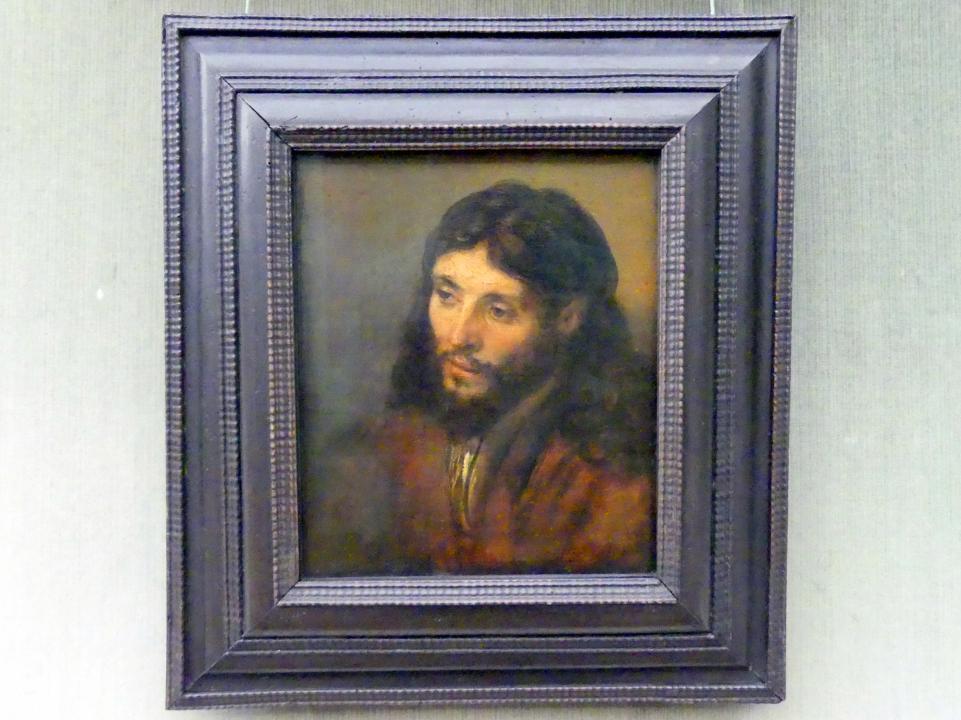 Rembrandt (Rembrandt Harmenszoon van Rijn): Christuskopf, Undatiert