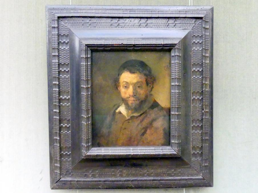 Rembrandt (Rembrandt Harmenszoon van Rijn): Bildstudie eines jungen Juden, nach 1657