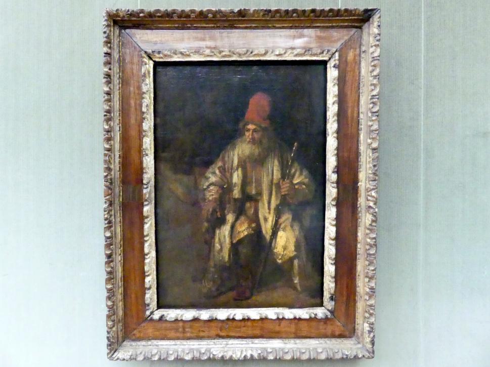Rembrandt (Rembrandt Harmenszoon van Rijn): Der Alte mit der roten Mütze, Undatiert