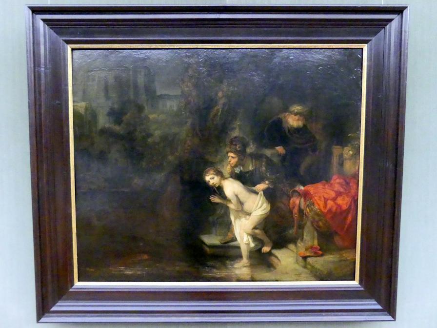 Rembrandt (Rembrandt Harmenszoon van Rijn): Susanna und die beiden Alten, 1647