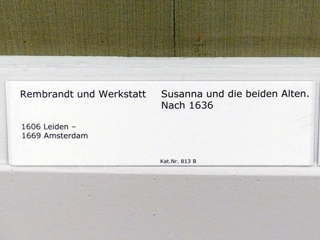 Rembrandt (Werkstatt): Susanna und die beiden Alten, nach 1636, Bild 2/3