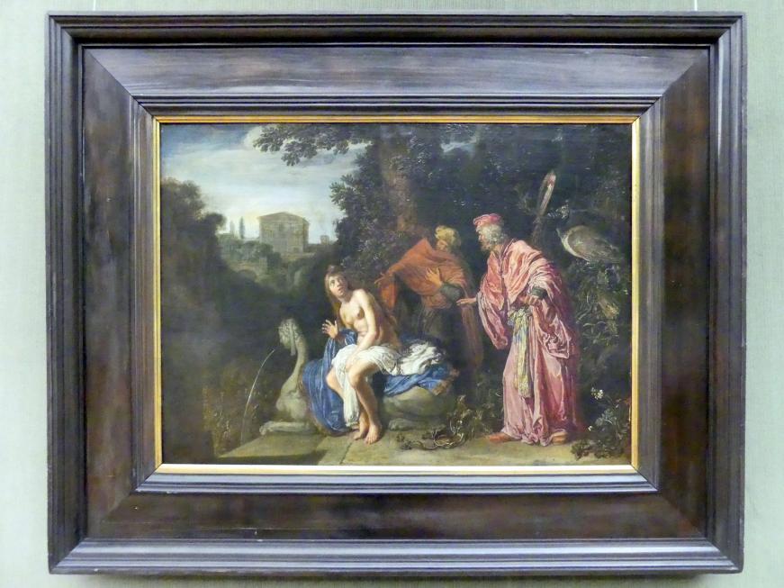 Pieter Lastman: Susanna und die beiden Alten, 1614