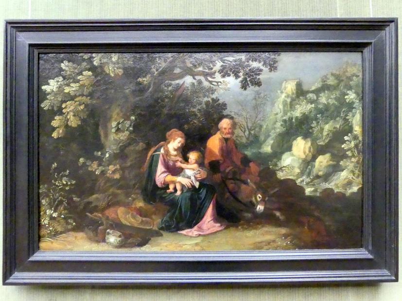 Pieter Lastman: Die Ruhe auf der Flucht, um 1608