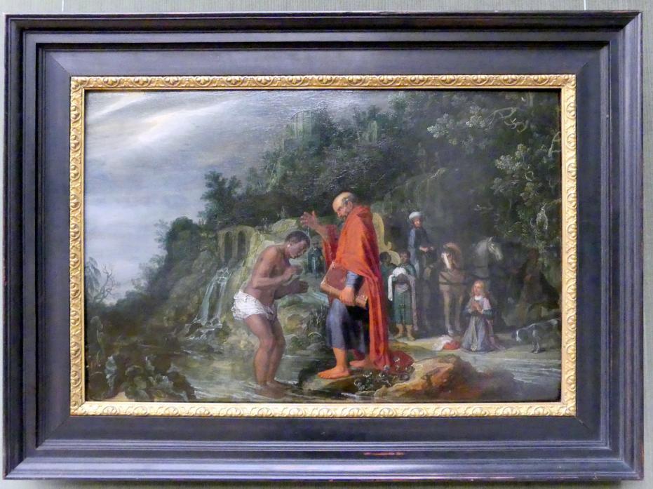 Pieter Lastman: Die Taufe des Kämmerers, 1608