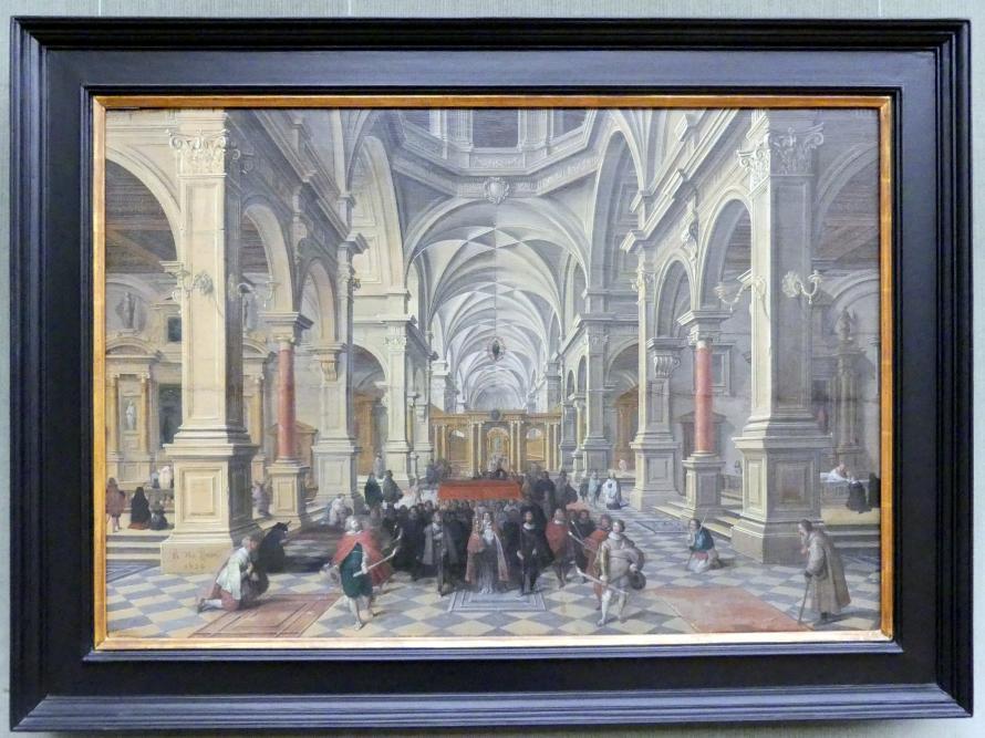 Bartholomeus van Bassen: Innenansicht einer Kirche, 1624