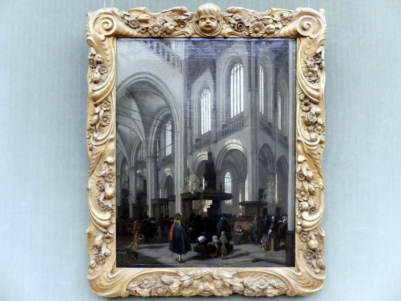 Emanuel de Witte: Innenansicht der Nieuwe Kerk zu Amsterdam, um 1680