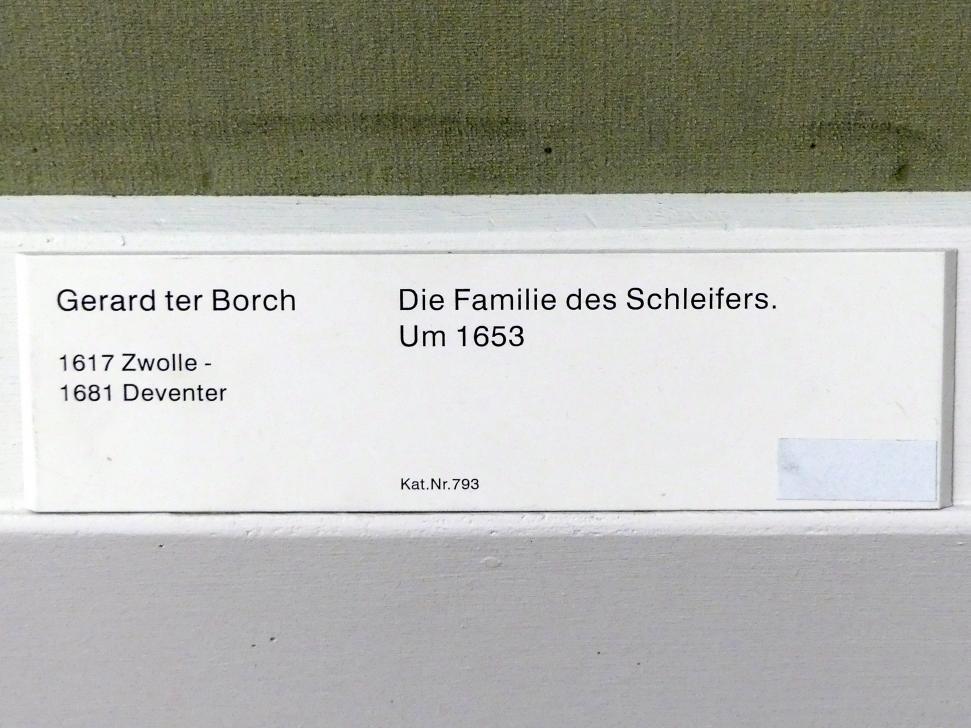 Gerard ter Borch: Die Familie des Schleifers, um 1653, Bild 2/2
