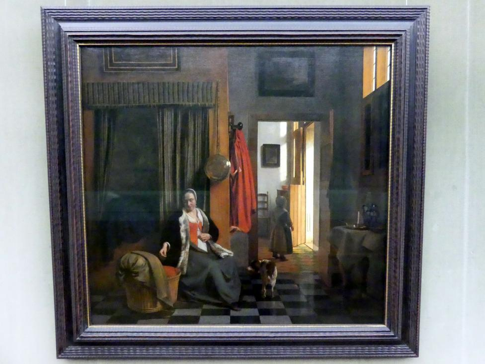 Pieter de Hooch: Die Mutter, um 1661 - 1663