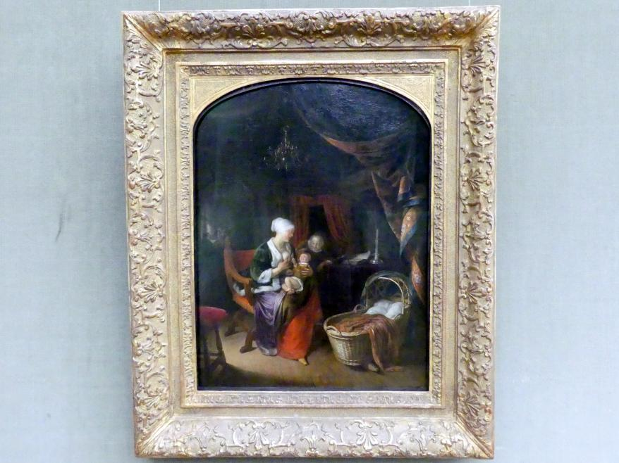 Gerard Dou (Gerrit Dou): Die junge Mutter, um 1655 - 1660