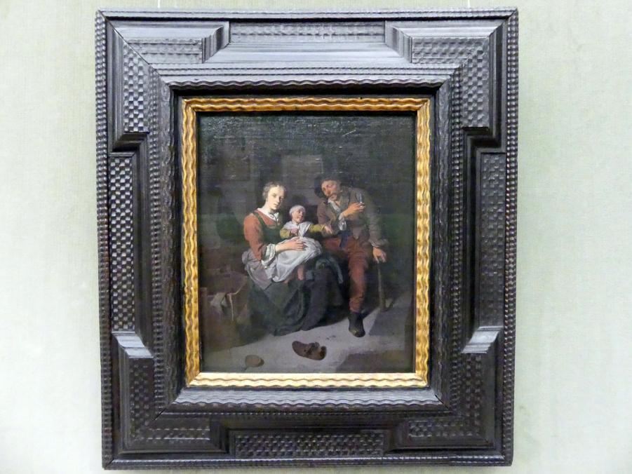 Cornelis Pietersz. Bega: Bauernfamilie, um 1660