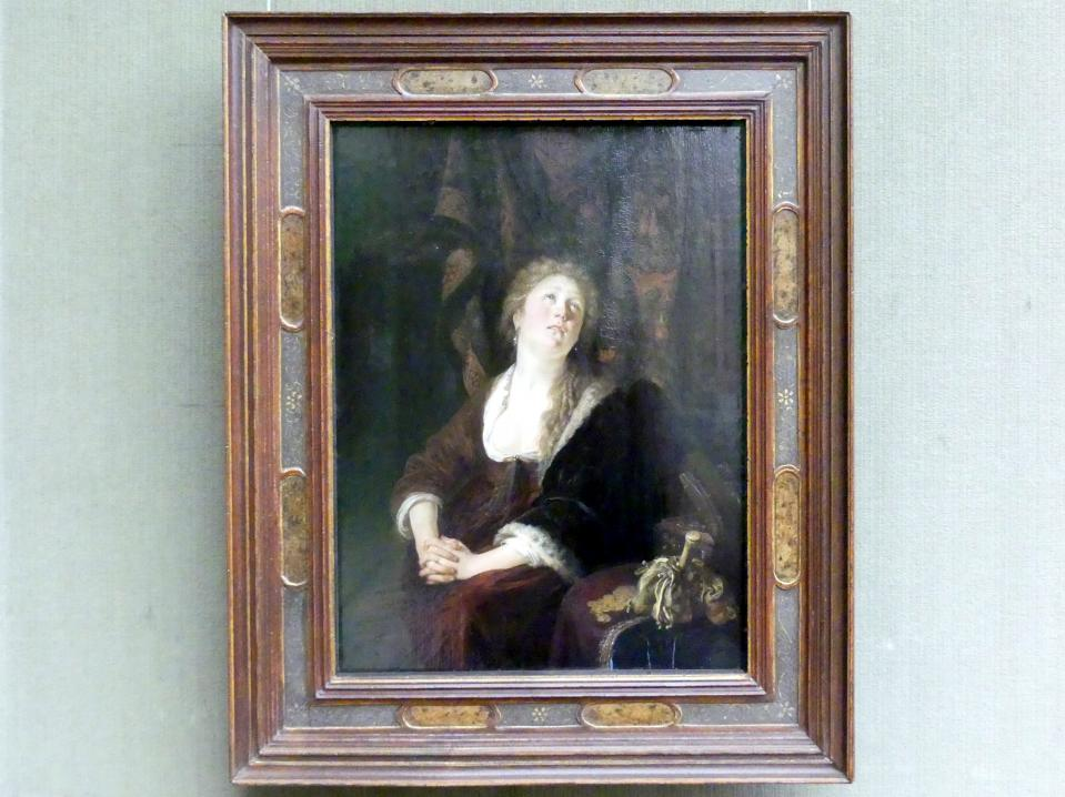 Gerard Dou (Gerrit Dou): Die Bekehrung der Maria Magdalena, 1644 - 1655