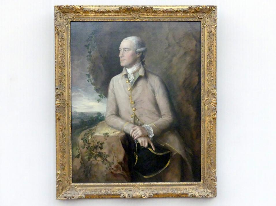 Thomas Gainsborough: Der Jurist Joshua Grigby III (1731-1798), um 1760 - 1765