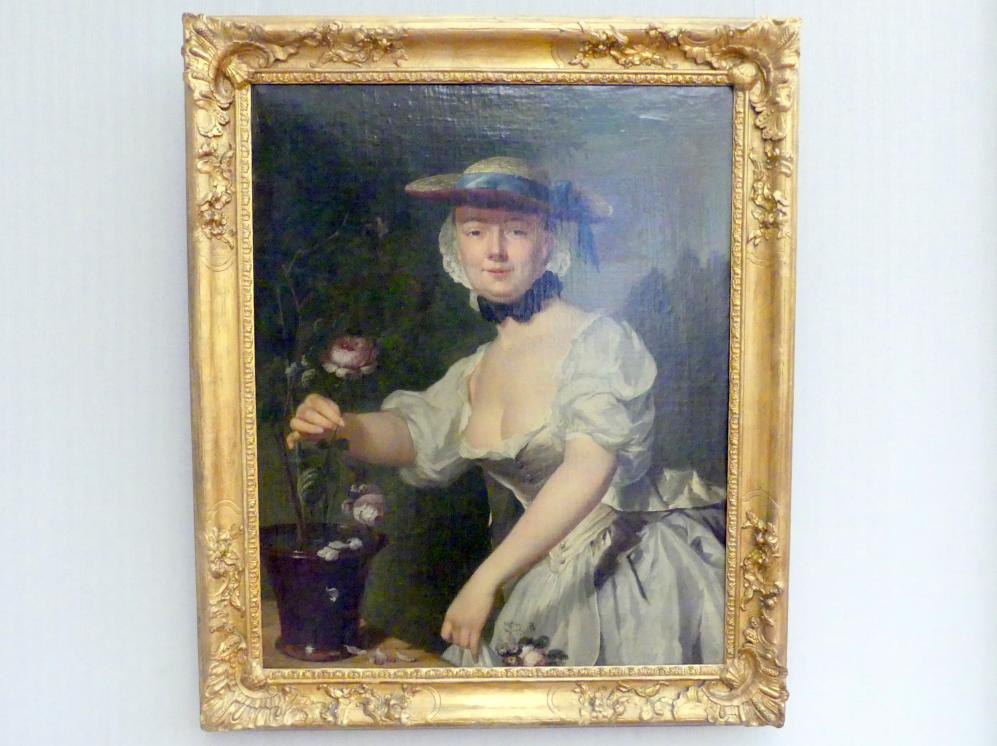 George van der Mijn: Bildnis einer Dame, 1763