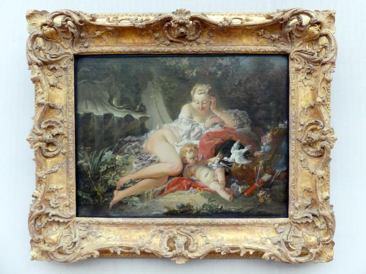 François Boucher: Venus und Amor, 1742