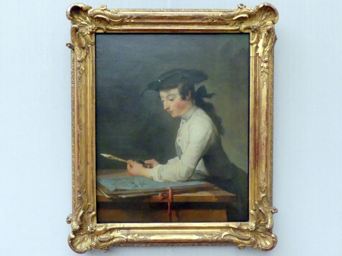 Jean Siméon Chardin: Der Zeichner, 1737