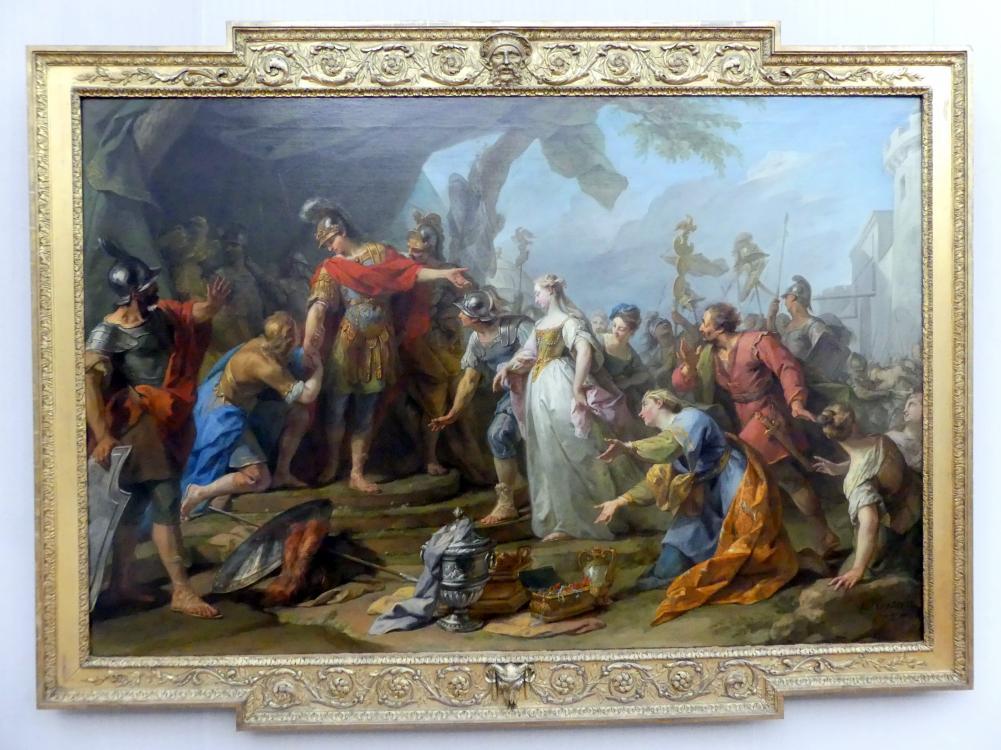 Jean Restout: Die Großmut des Scipio, 1728