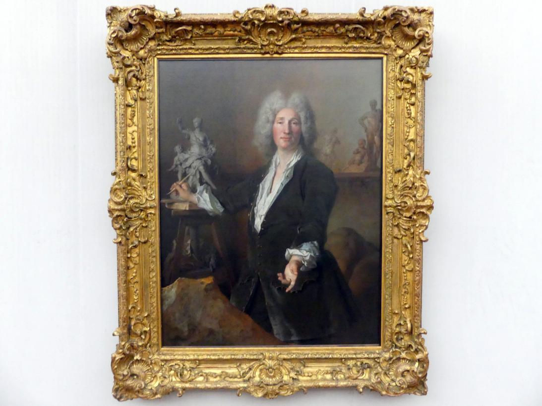 Nicolas de Largillière: Der Bildhauer René Frémin (1672-1744), Um 1713
