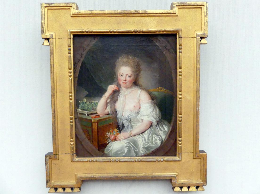 Anna Dorothea Therbusch: Junge Frau im Negligé, Um 1769 - 1770