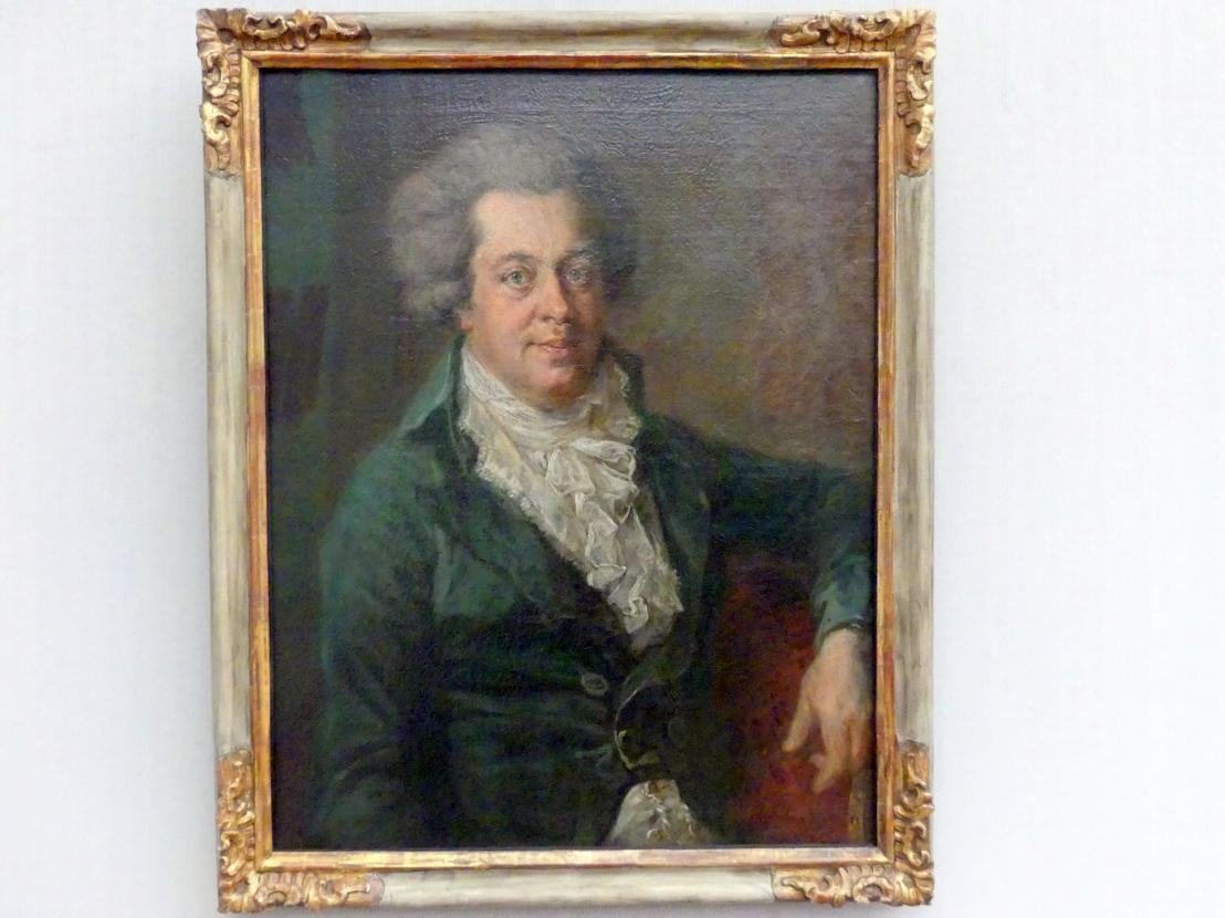 Johann Georg Edlinger: Wolfgang Amadeus Mozart (1756-1791), um 1790