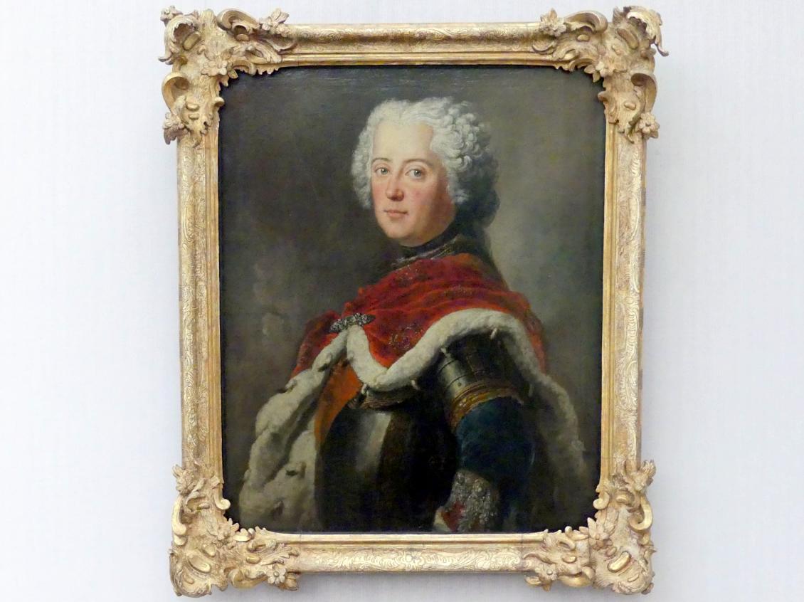 Antoine Pesne: Friedrich der Große (1712-1786) als Kronprinz, 1739