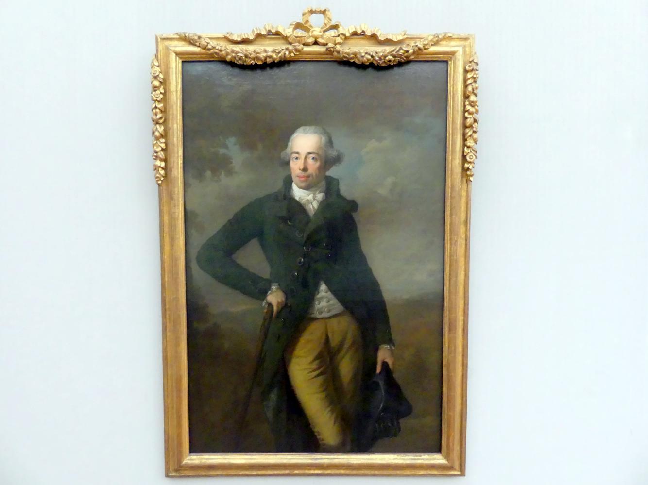 Anton Graff: Prinz Heinrich XIV. (1749-1799) Reuss zu Greiz ältere Linie, 1789
