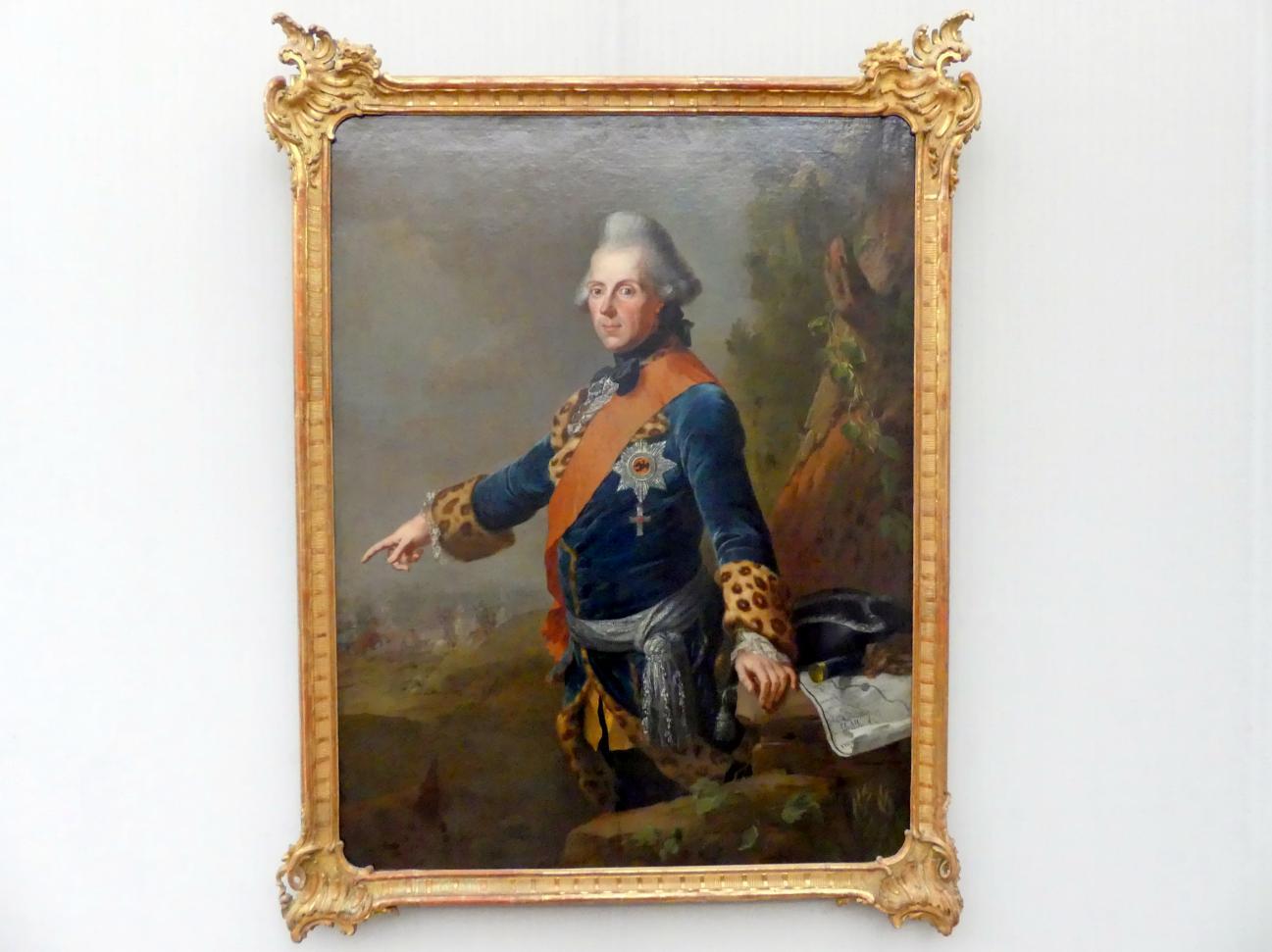 Johann Heinrich Tischbein der Ältere: Prinz Heinrich von Preußen (1726-1802), 1769
