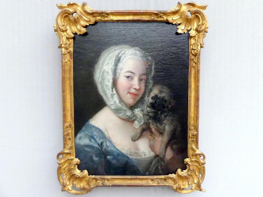 Antoine Pesne: Marie de Rège (geboren 1713), Tochter des Künstlers, Um 1745