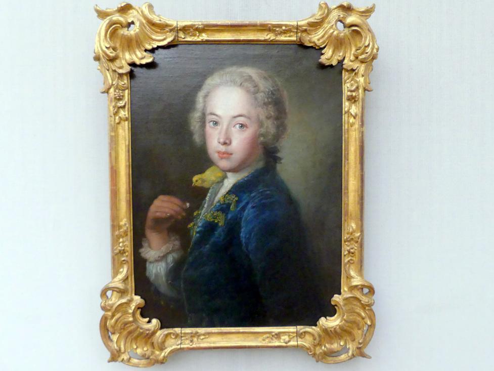Antoine Pesne: Georg Vollrath de Rège, Enkel des Künstlers, Um 1747 - 1750