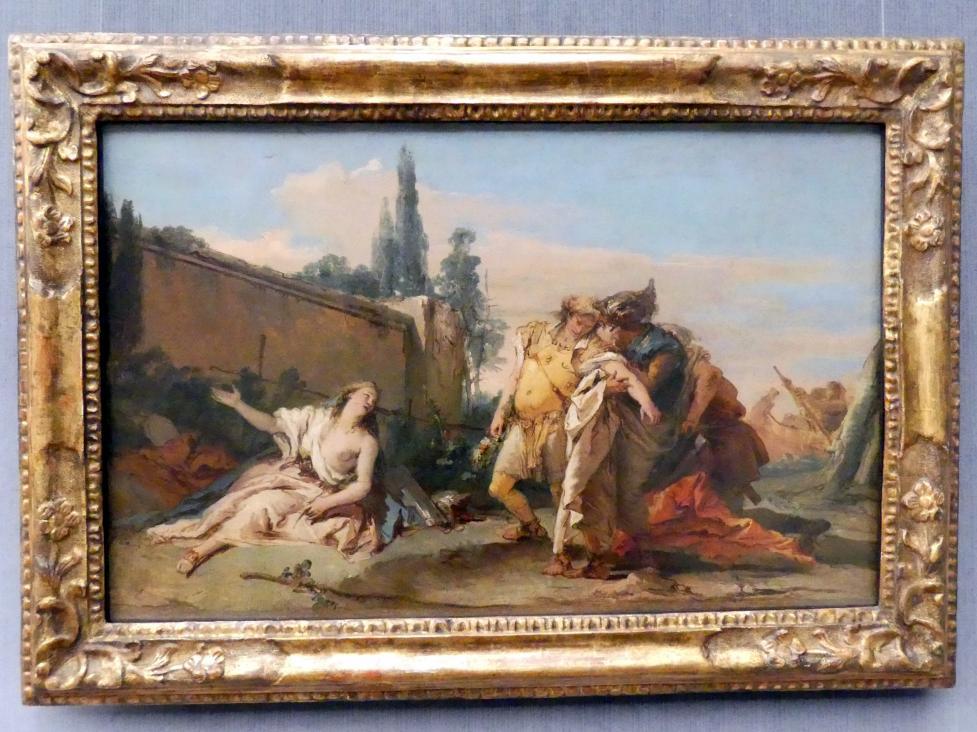 Giovanni Battista Tiepolo: Rinaldos Abschied von Armida, Undatiert