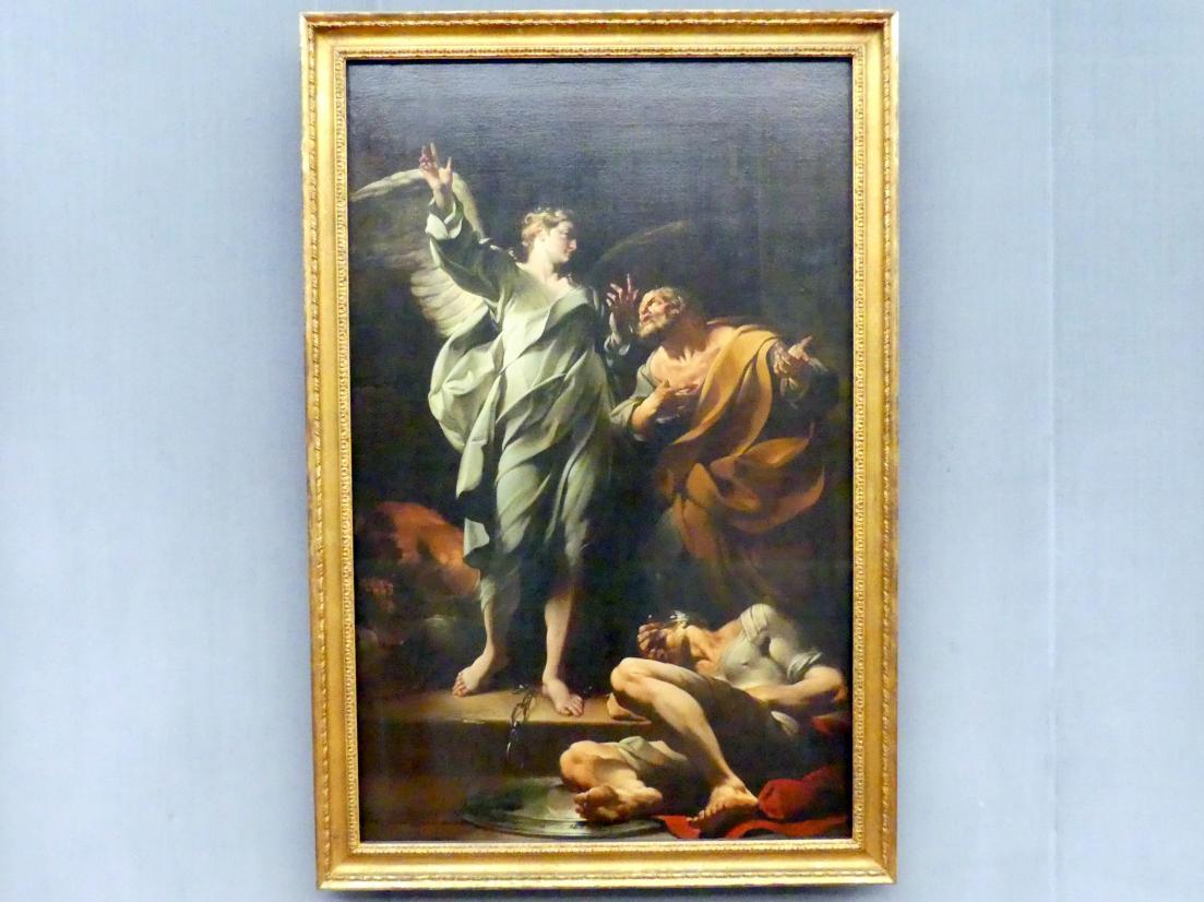 Giovanni Domenico Ferretti: Die Befreiung Petri, 1736