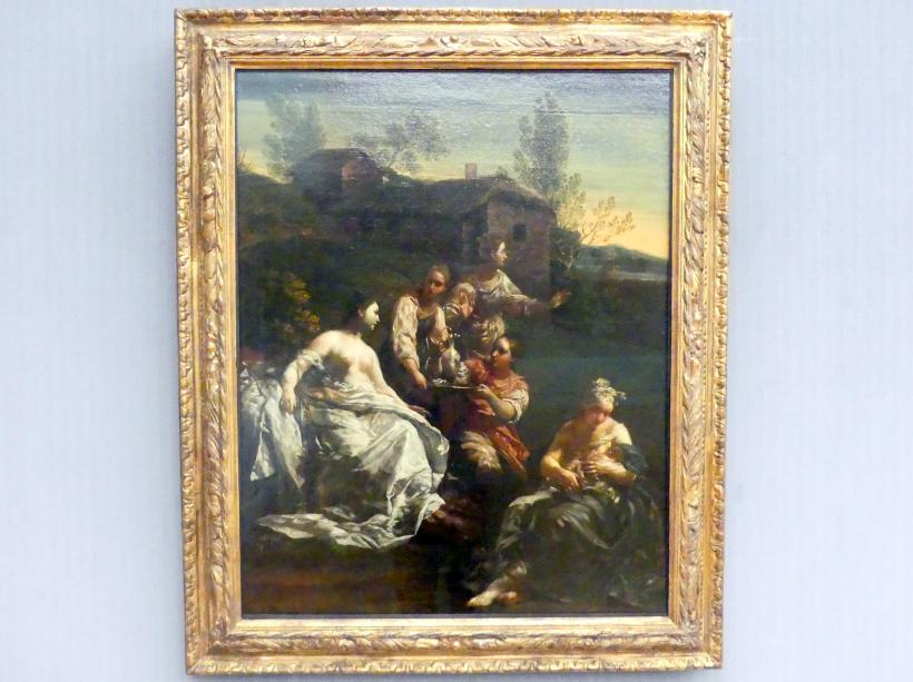 Giuseppe Maria Crespi (Spagnuolo): Die Geburt des Arkas oder die Geburt des Adonis (?), um 1720 - 1725