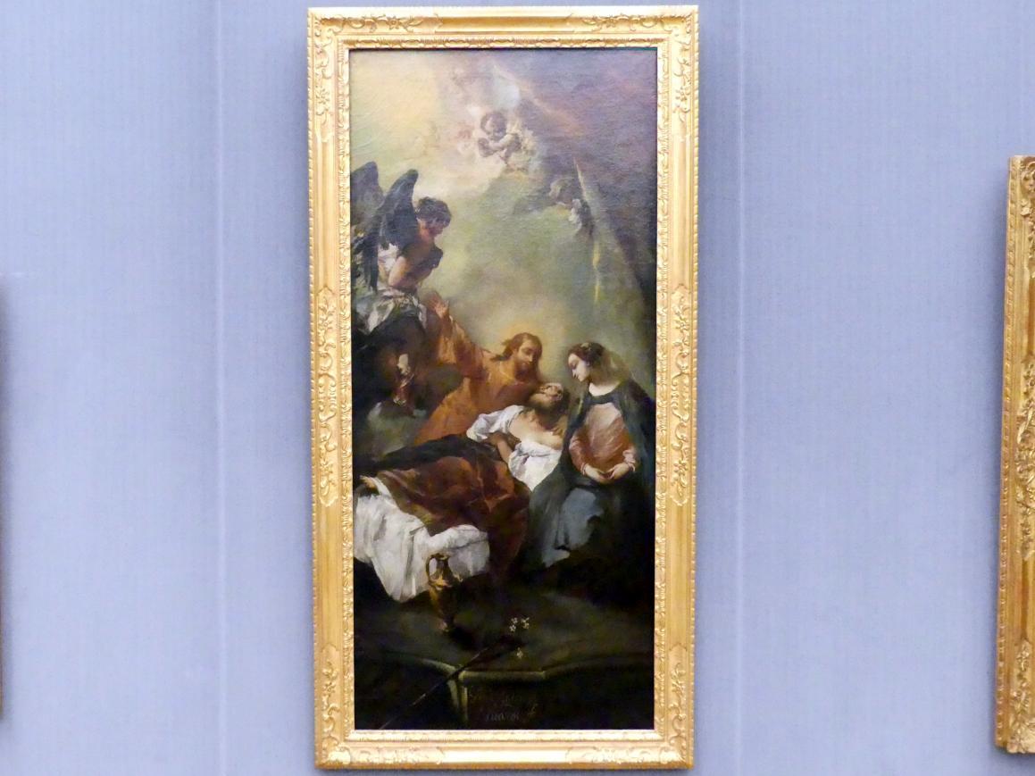 Giovanni Antonio Guardi: Der Tod des hl. Joseph, um 1740 - 1745