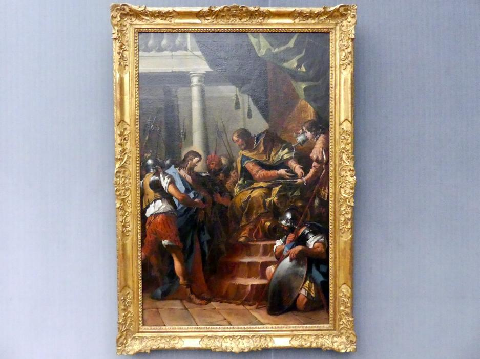 Gaspare Diziani: Christus vor Pilatus, um 1755 - 1760