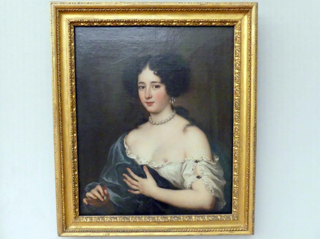 Jacob Ferdinand Voet: Clelia Cesarini Colonna (1655-1735), Fürstin von Sonnino, als Kleopatra, Undatiert