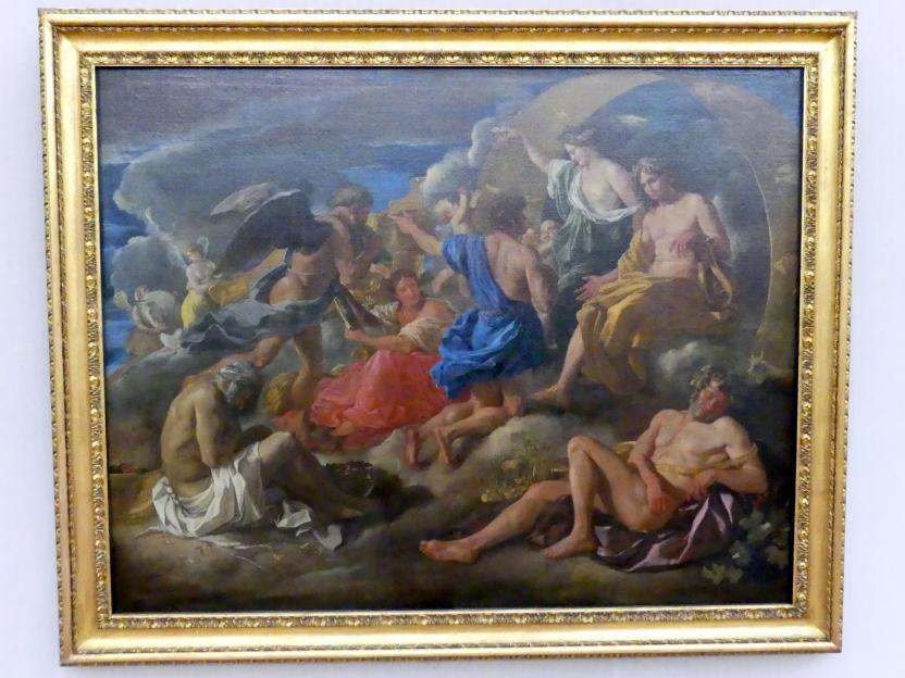 Nicolas Poussin: Helios und Phaeton mit Saturn und den vier Jahreszeiten, um 1629 - 1630