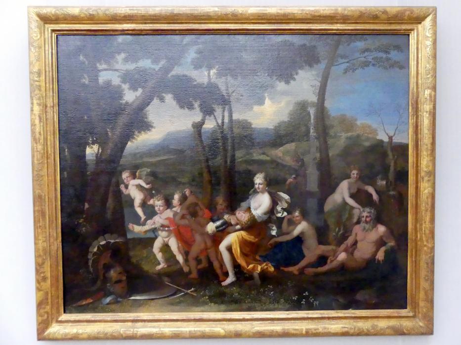 Nicolas Poussin: Armida entführt den eingeschläferten Rinaldo, um 1637